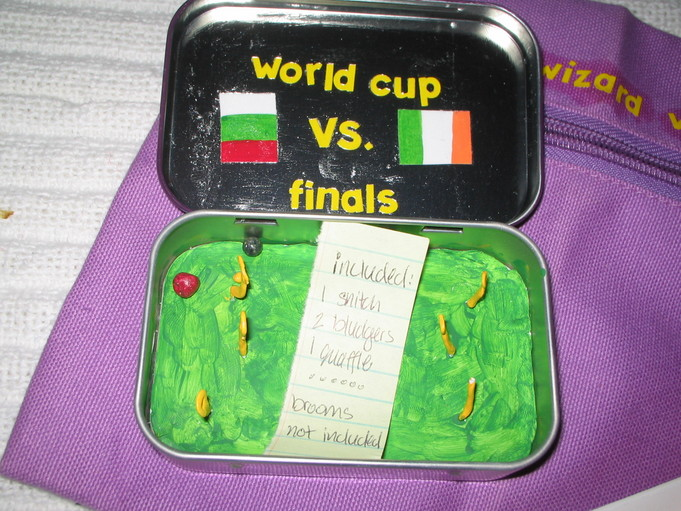 Patented Daydream Charm - Quidditch World Cup Tin