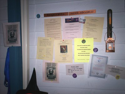 Hogwarts Notice Board