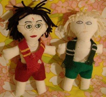 Harry & Draco Dolls