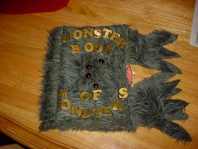 Monster Book of Monsters Book Jacket - Image 1