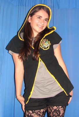 Hogwarts Robe-like Shirt - front