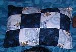Harry Potter Patchwork Pillow