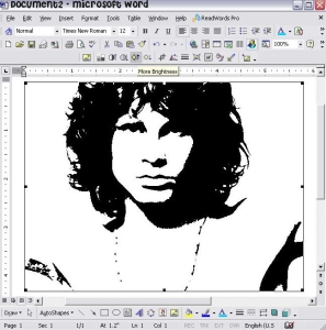 Making a Stencil in Microsoft Word