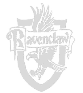 Ravenclaw Crest stencil