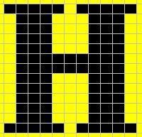 Knitting_mugglewear_socks_hoorayhufflepuff_chart2_lykkefanten