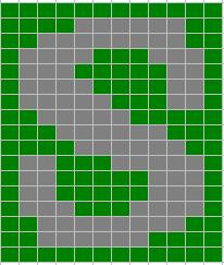 Knitting_mugglewear_socks_suchaslytherin_chart2_lykkefanten
