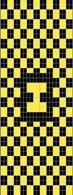 H is for Hufflepuff chart, by SuperJenn