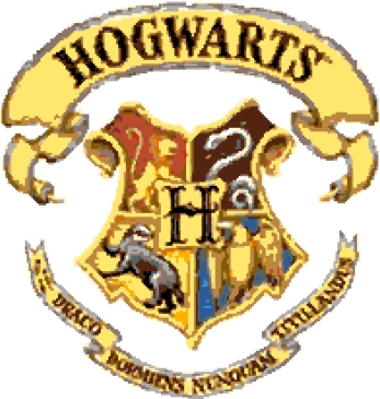 Hogwarts Crest (v4) cross-stitch chart