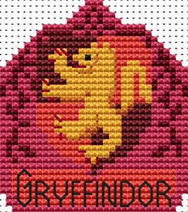Gryffindor Coaster chart