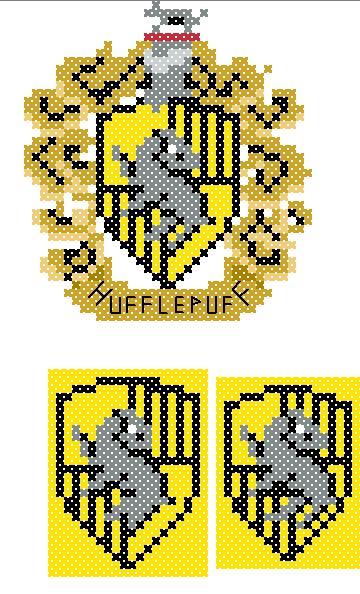 Hufflepuff Crest (v2) chart