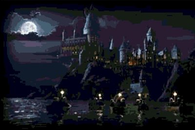 Hogwarts Castle cross-stitch chart