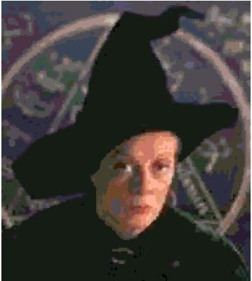 Professor McGonagall cross-stitch chart