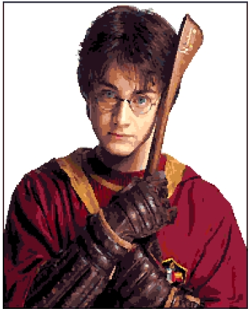 Harry Potter (v3) cross-stitch chart