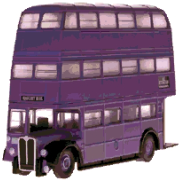 Knight Bus cross-stitch chart