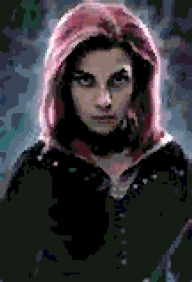 Nymphadora Tonks cross-stitch chart