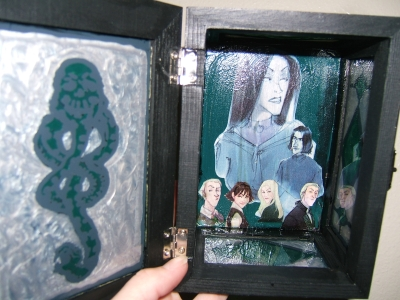Death Eater Box - Inside