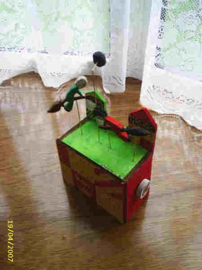 Mechanical Quidditch Toy