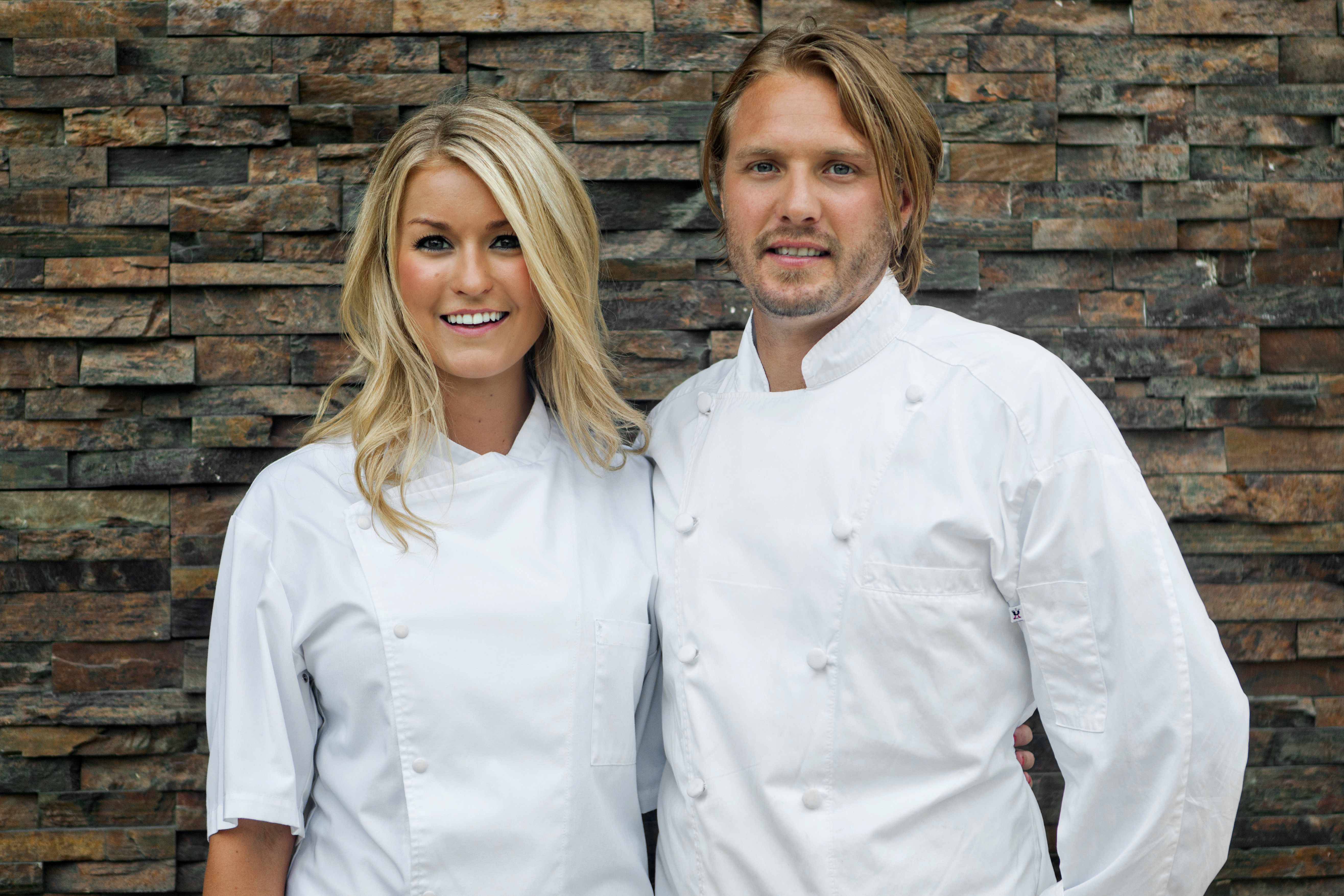 Jeff McGinnis and Janine Booth
