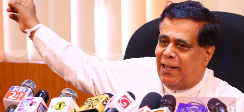 Transport Minister Nimal Siripala de Silva