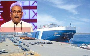 Prez to renegotiate Hambantota Port deal