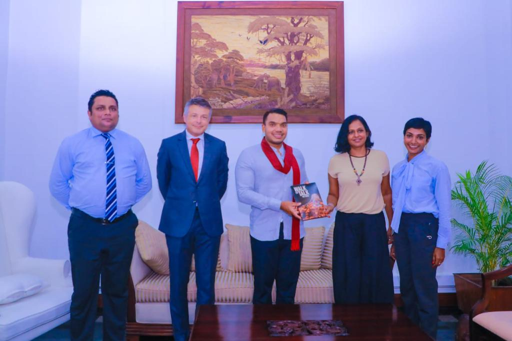 Ministry of Youth & Sports partners to WALK THE TALK with Waste Action LK (WALK) and EU