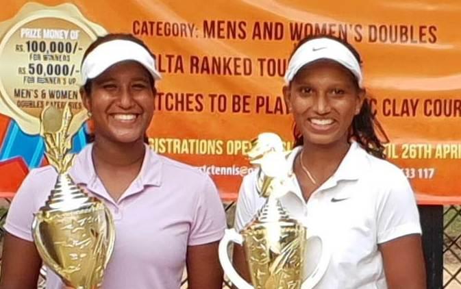 Savini and Janali clinch Govt. Servants TC tennis title