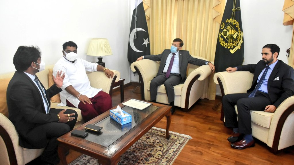 State Minister discusses education scholarships with Pakistani envoy