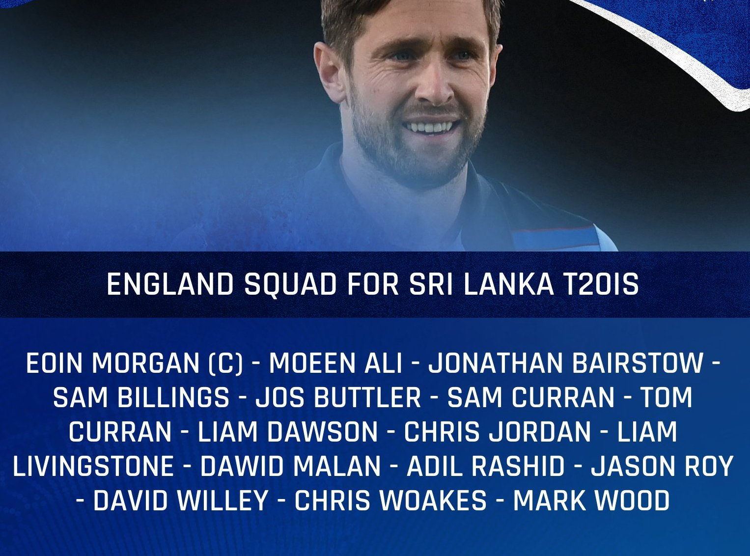 England recall Woakes, Willey, and Dawson for SL white-ball series
