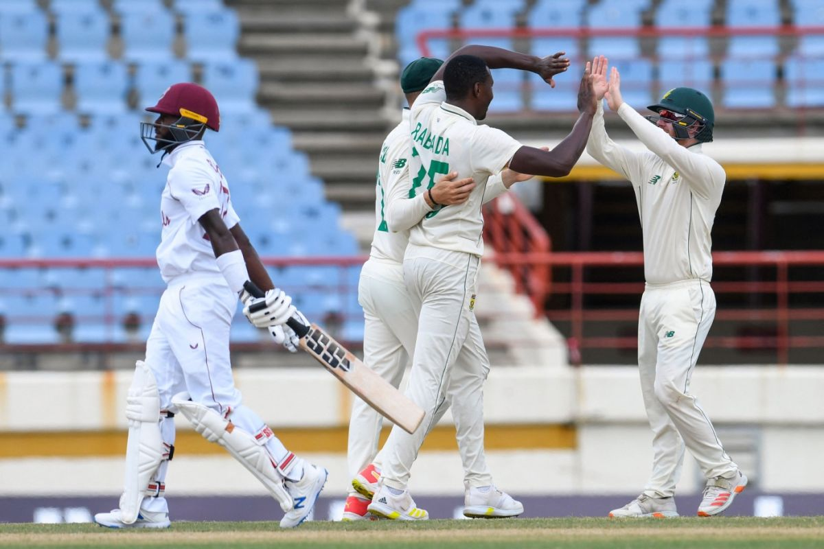 Proteas end woes, Windies humiliated