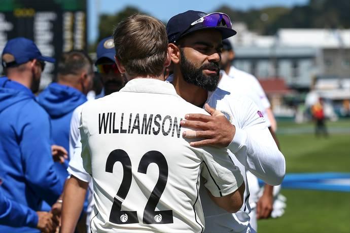 Kiwis overtake India before World Test Championship Final