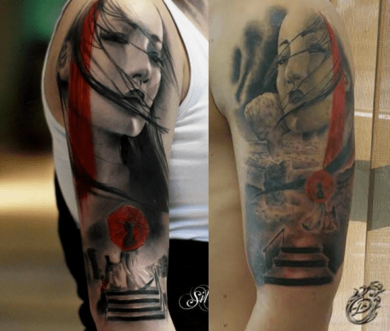 The Ink Station: Copying tattoos
