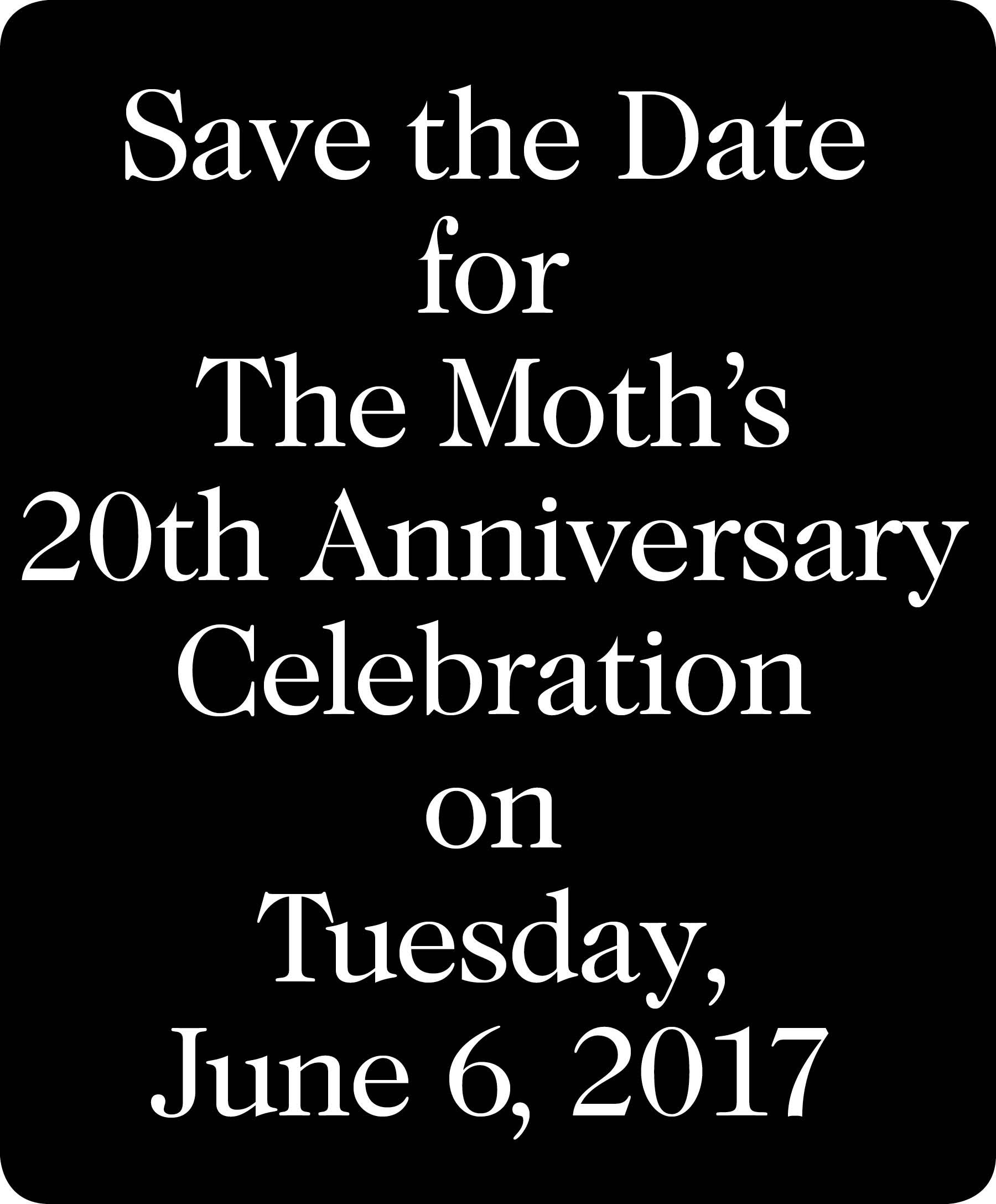 Moth Ball Save The Date 2017