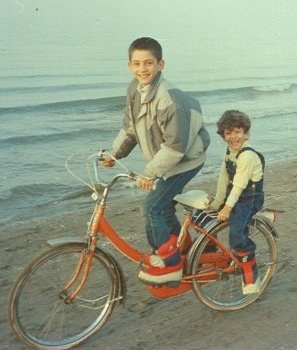 1980S Caspian See Iran With My Brother