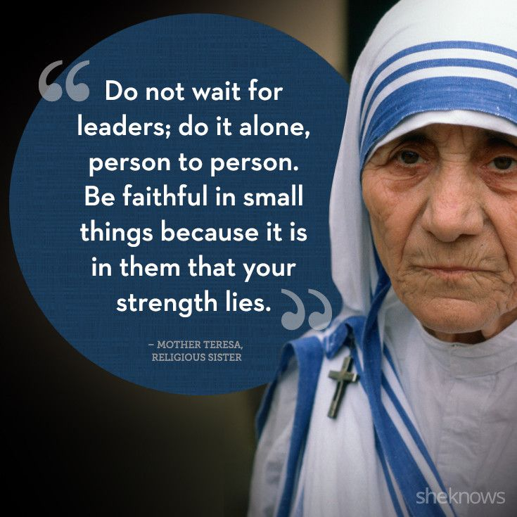 Life Quotes Mother Teresa Interesting Inspirational Quotesmother Teresa  The Insider Tales