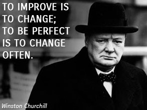 http://www.wisdomtoinspire.com/t/winston-churchill/NyOrnW7F/to-improve-is-to-change-to-be-perfect-is-to-change-often