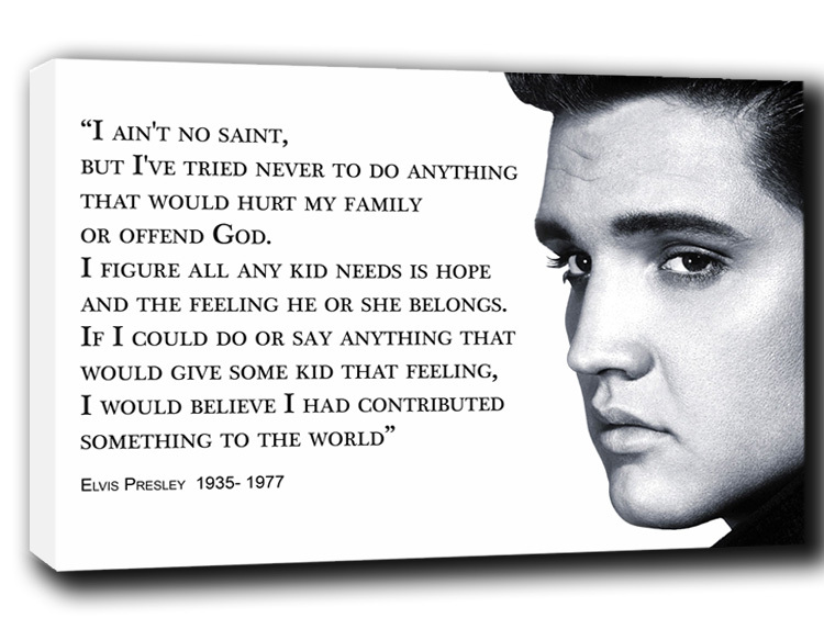 INSPIRATIONAL QUOTES BY ELVIS PRESLEY The Insider Tales Best Elvis Presley Quotes