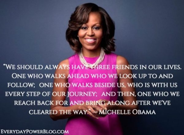 Michelle Obama Quotes Gorgeous INSPIRATIONAL QUOTES BY MICHELLE OBAMA The Insider Tales