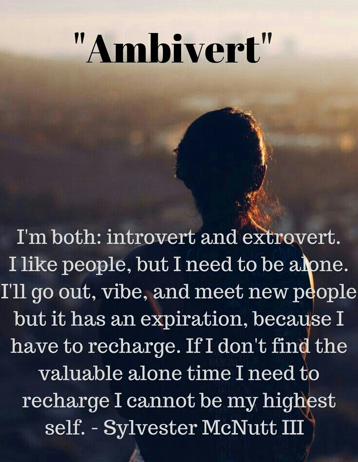 ARE YOU AN AMBIVERT ?