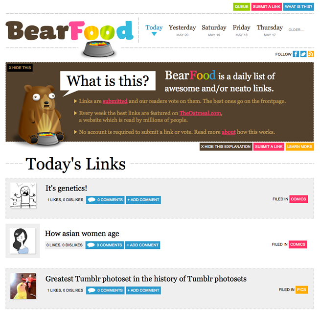 BearFood Screenshot