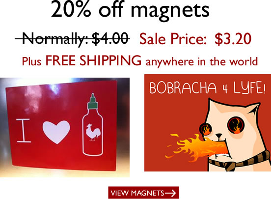 Magnets are 20% off