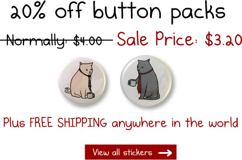 Buttons are 20% off