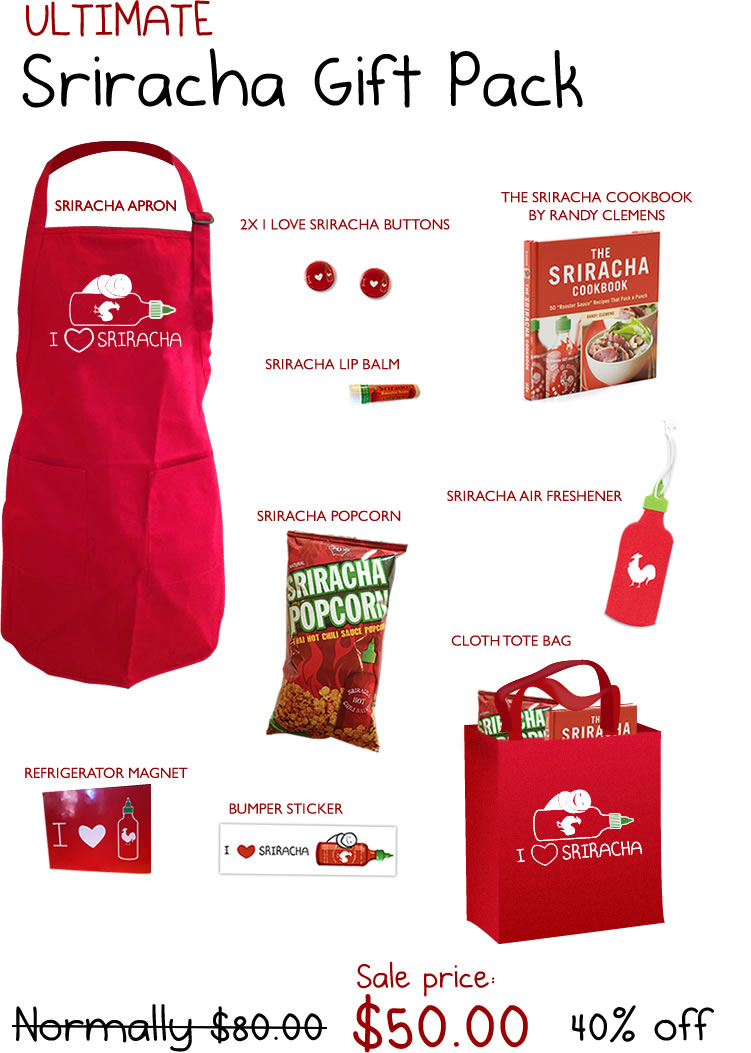 The Ultimate Sriracha Gift Pack