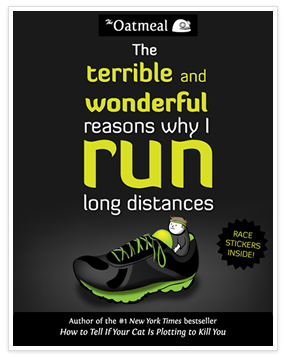 The terrible and wonderful reasons why I run long distances - the book