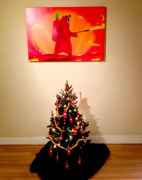 the oatmeal christmas tree smells spicy and incredible - My Christmas Tree