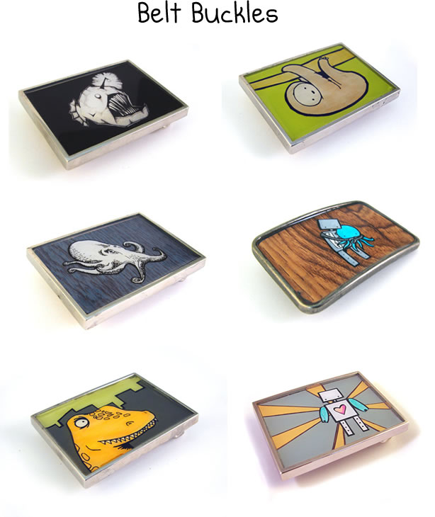 Belt Buckles by LaRu