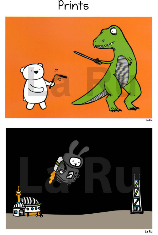 Prints by LaRu
