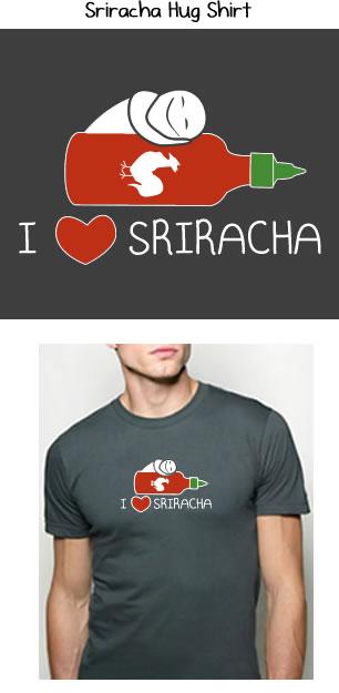 Sriracha Hug Shirt