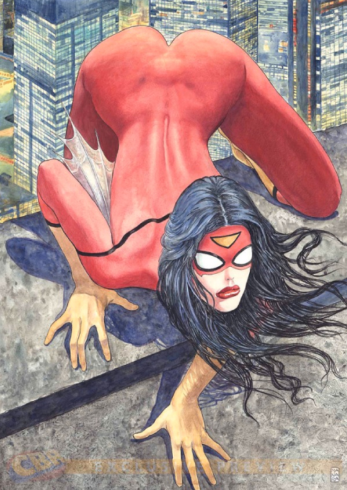 The new Spider-Woman cover