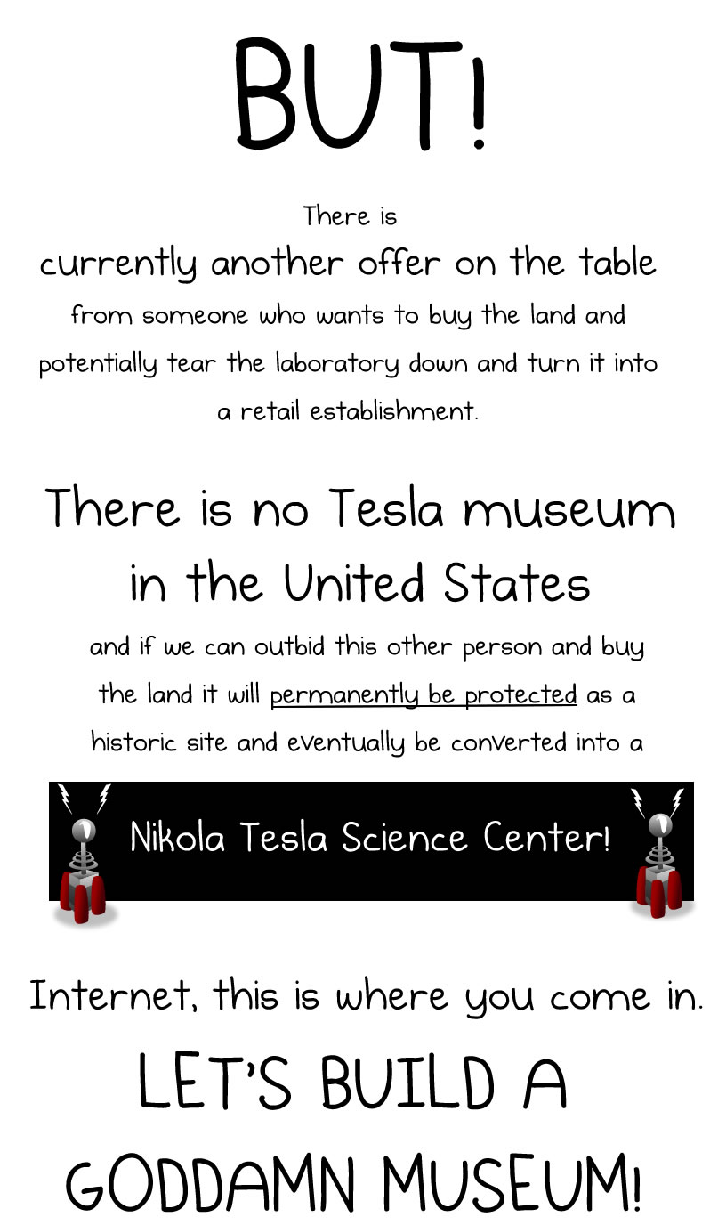 Unique Cause And Effect Essay Topics Help Me Raise Money To Buy Nikola Tesla S Old Laboratory The Oatmeal Help  Me Raise Gender Discrimination Essays also Top Persuasive Essay Topics Nikola Tesla Essay Help Me Raise Money To Buy Nikola Tesla S Old  Worldview Essays