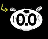 0.0 Blerch race sticker